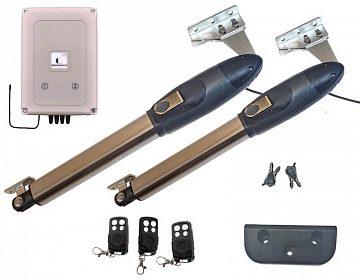 Extra silné elektropohony pro dvoukřídlá vrata