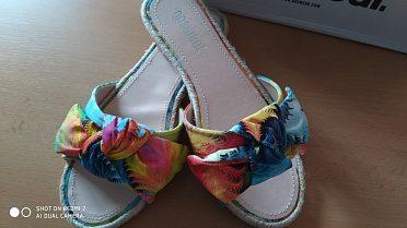 Letní pantoflíky, nové