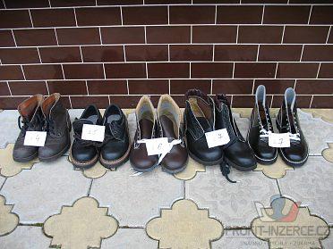 Prac. obuv dámská i pánská+vatov. kabáty