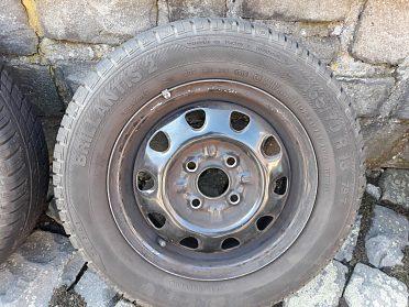 Prodám disky plechové na letním pneu Škoda Felícia 1,3