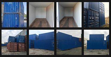 Nabízíme všechny typy a velikosti lodních kontejnerů
