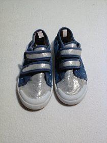Dětské boty tenisky, vel, 27 cena 80 Kč, nošené, bězné opotřebení
