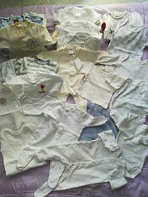 Set oblečků na mimino