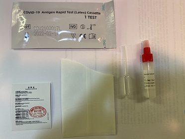 Antigenni testy Skladem ze slin ihned k odberu