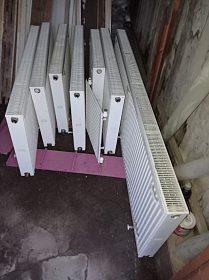 Plechové radiátory Kermi -použité