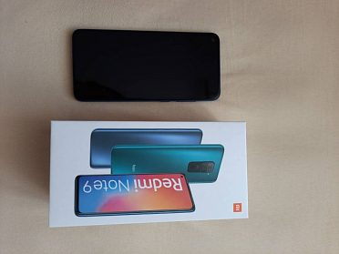 Xiaomi Redmi Note 9 3GB/64GB midnight grey
