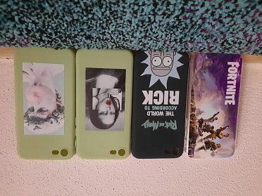 Rick and Morty kryt na iPhone (pro různé modely)