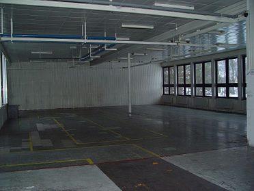Pronájem skladovacích a výrobních prostor, lokalita Slušovice