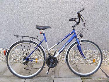 Pánské kolo, může být i dámské- snížený rám.