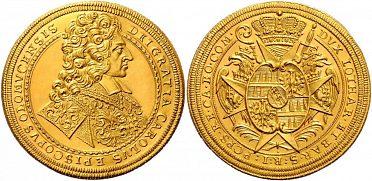 Zlaté a stříbrné mince, bankovky, medaile, odznaky