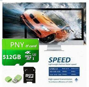 PNY TF Micro SDXC Card 512 GB je Nová nepoužitá paměťová karta