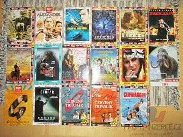 Prodej filmů na DVD