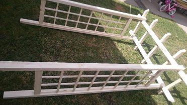 Pergola Zahradní dřevěný oblouk brána na kytkyRůže
