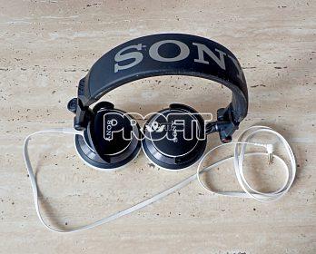 Špičková japonská HIFI sluchátka Sony NDR-V55