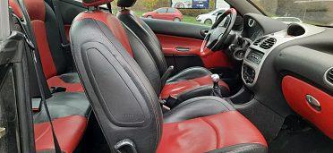 Prodám vozidlo Peugeot kabriolet 206 CC