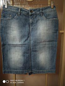 Džínová sukýnka Guga Jeans, vel.M