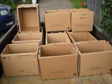 Papírové krabice na stěhování