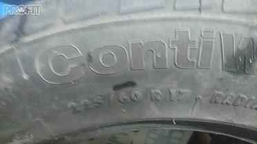 Pneu M+S.  Continental